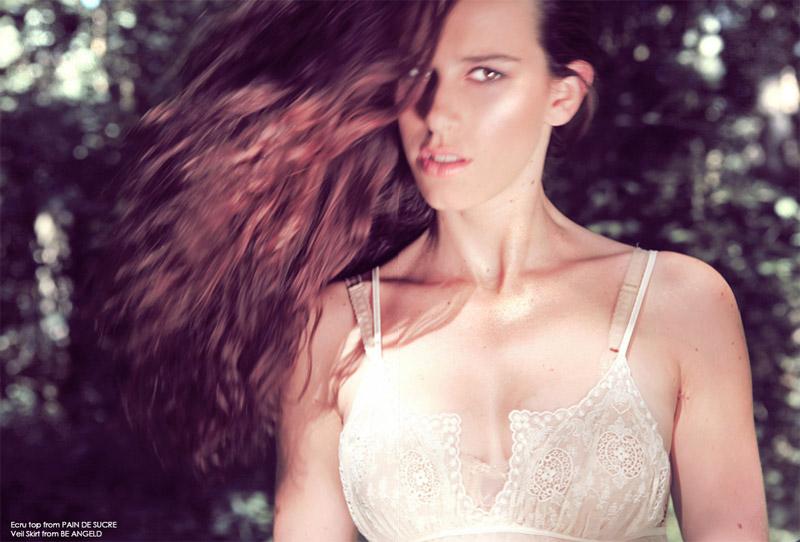 Nathalie Van Den Berg by Nella Balda in The Wild Flower | F &#9829 Hush Summer 2010