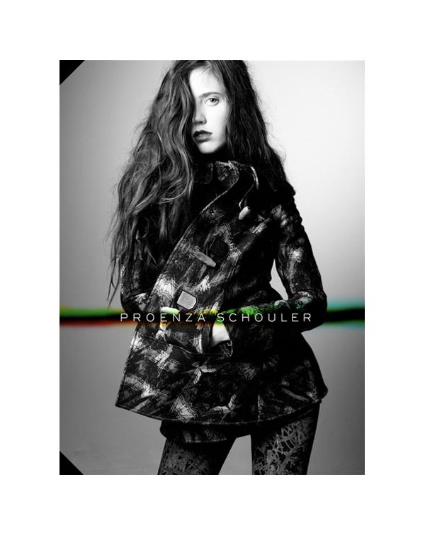 Proenza Schouler Fall 2010 Campaign | Tati Cotliar by Daniel Jackson