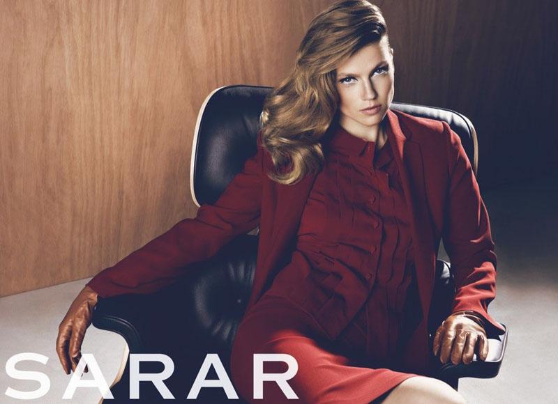 Masha Novoselova by Koray Birand for Sarar Fall 2010 Campaign