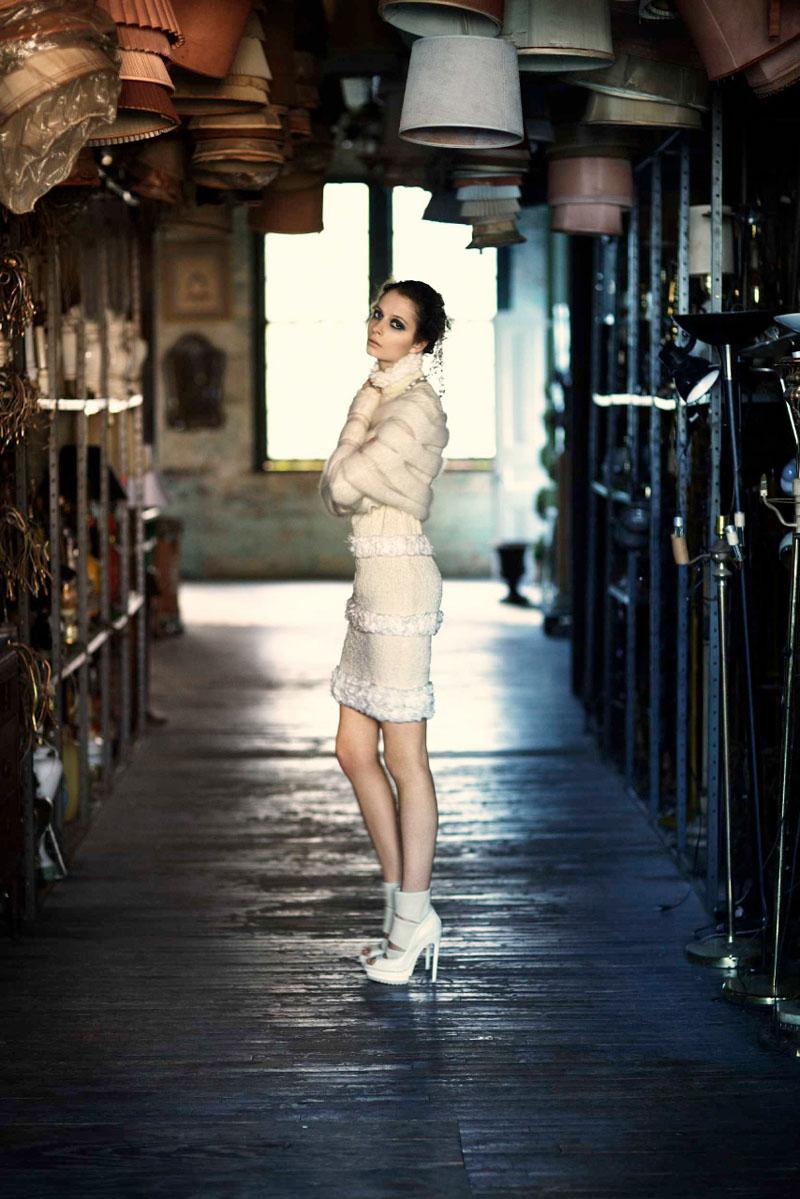 Suzie Bird by Chloe Crespi for Harper's Bazaar Spain September 2010