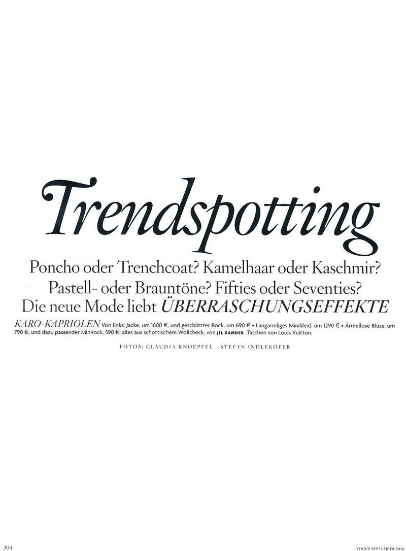 Melissa Tammerijn & Ylonka Verheul by Knoepfel & Indlekofer for Vogue Germany September 2010
