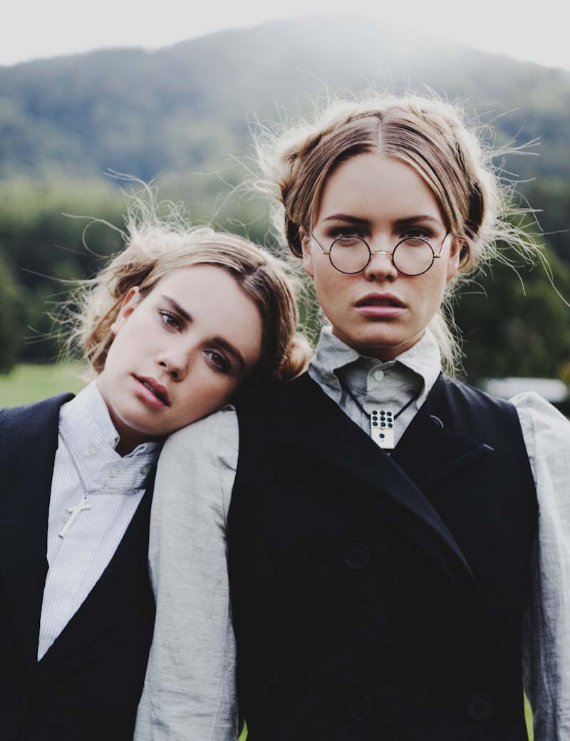 Elaina Musto & Emily Gillies by Zac Steinic for Yen Magazine #45
