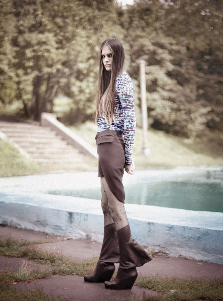 Alla Kostromicheva by Aleksandr Kluchnik for Top 10