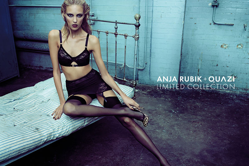 Anja Rubik + Quazi Fall 2010 Campaign   Anja Rubik by Artur Wesolowski