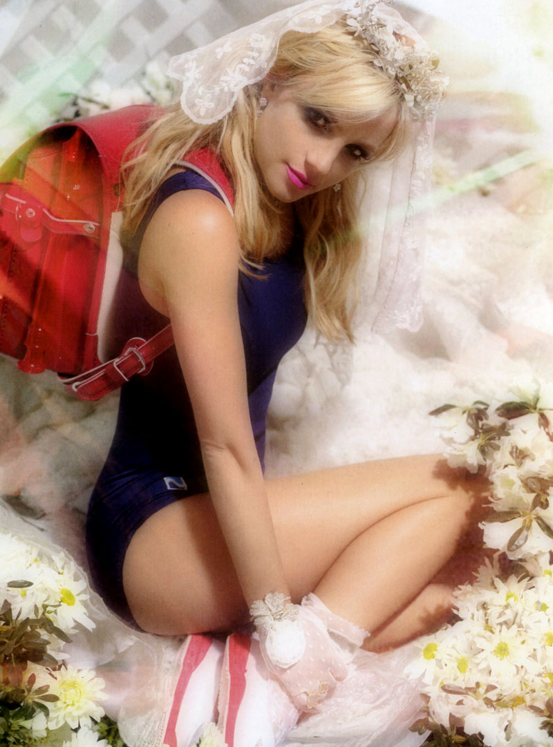 Britney Spears for POP Fall/Winter 2010 by Todd Cole
