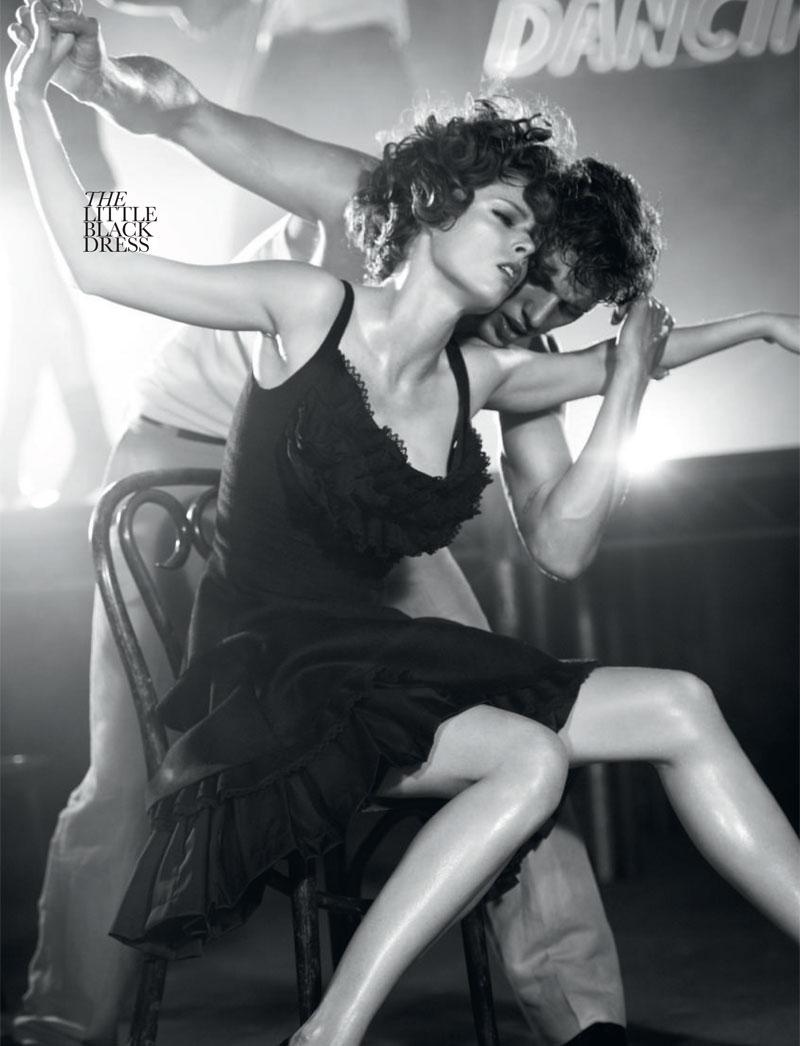 Coco Rocha for Elle UK October 2010 by David Vasiljevic