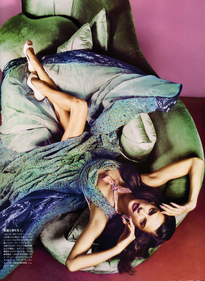 Alessandra Ambrosio & Ana Beatriz Barros for Vogue Nippon October 2010 by Sølve Sundsbø