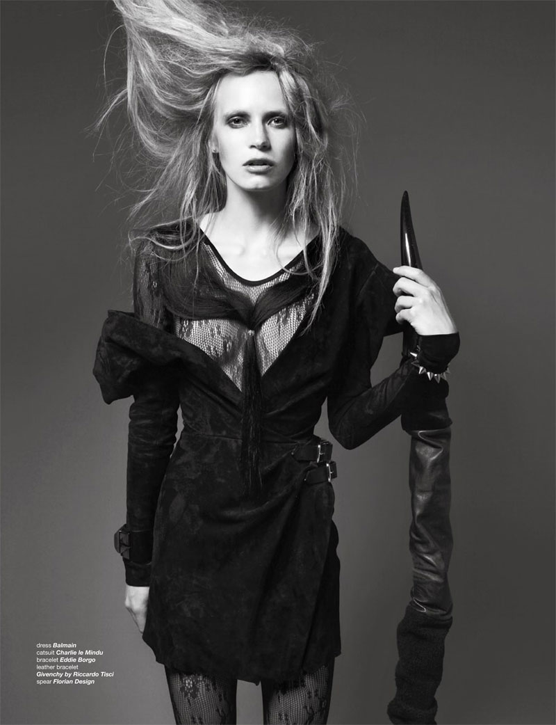 Jenny Sinkaberg by Dancian for Zoo Fall 2010