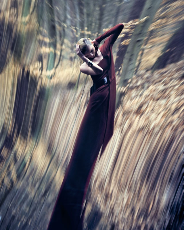 Denisa Dvorakova by David Bellemére for Marie Claire Italia September 2010
