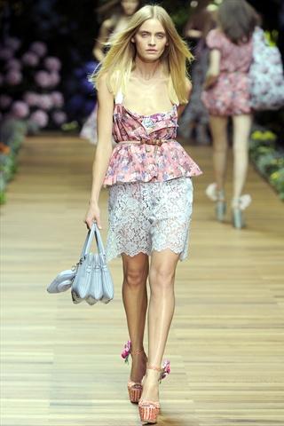 D&G at Milan Fashion Week Spring 2010 - Livingly