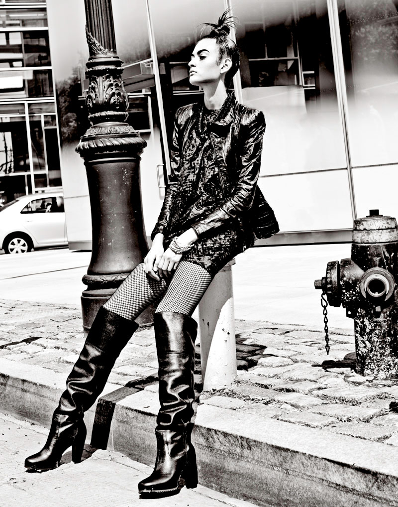 Ana Leticia Frediani by Kah Poon for Dossier Journal