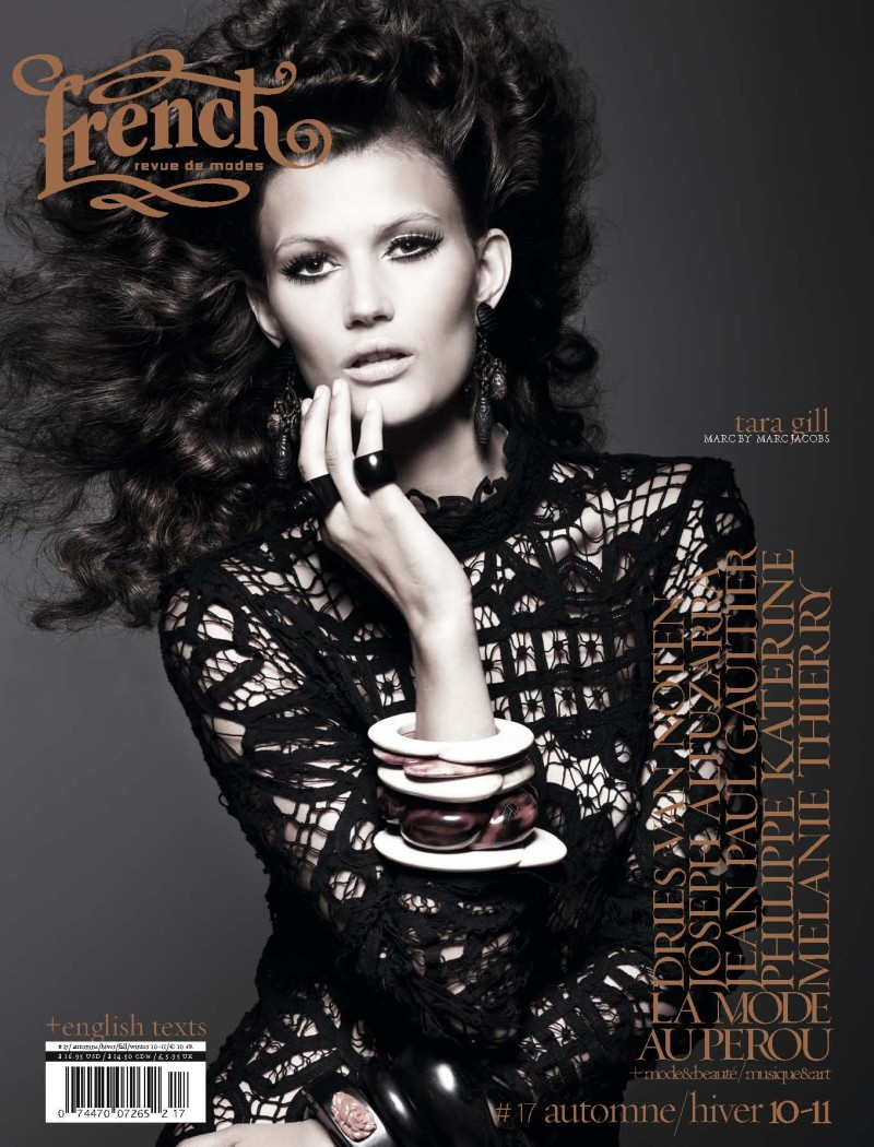 French Revue de Modes Fall / Winter 2010 Covers | 13 Models by Thierry Le Gouès