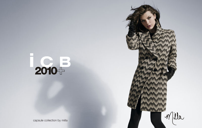 Milla Jovovich for iCB Capsule Collection by Milla Fall 2010 Campaign