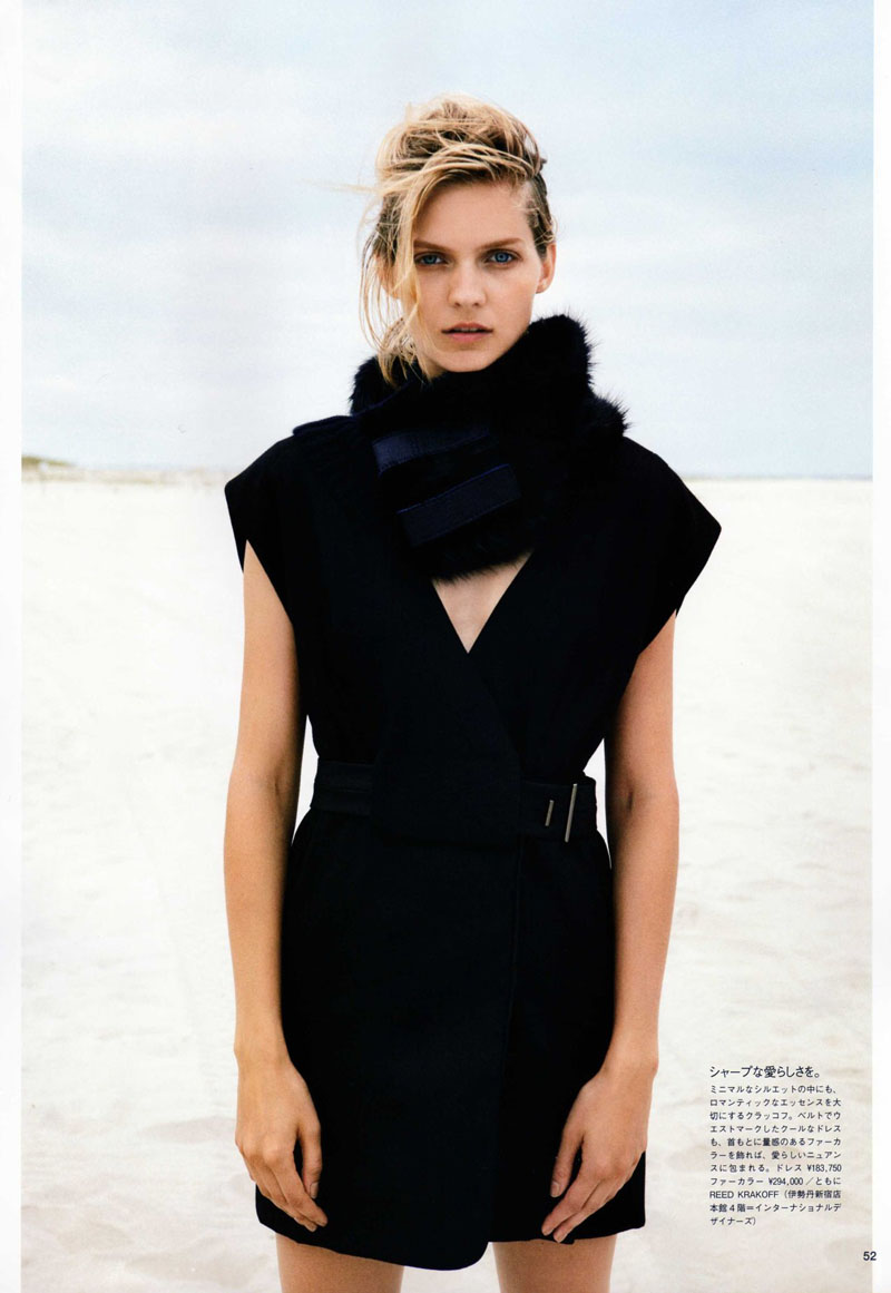 Karolin Wolter by Francesco Carrozzini in The Beauty of Innocence | Vogue Nippon October 2010