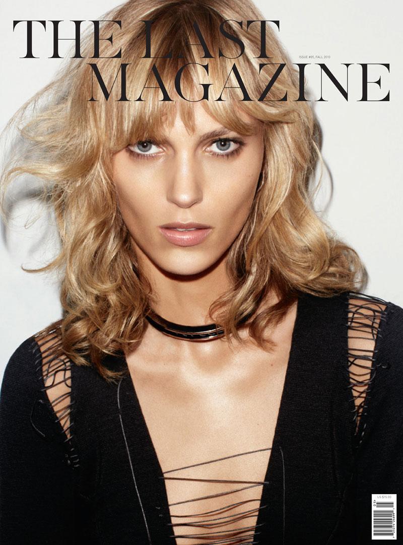 The Last Magazine F/W 2010 Cover | Freja Beha Erichsen & Anja Rubik by Maciek Kobielski