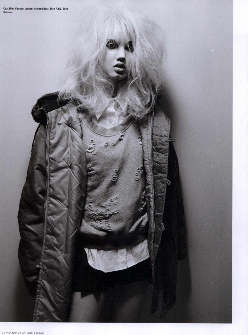 Lindsey Wixson by Emma Summerton for i-D Fall 2010