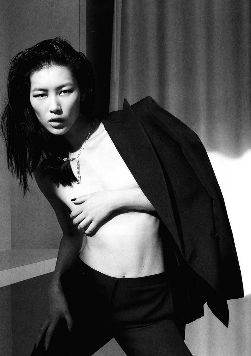 Liu Wen for Numéro China October 2010 by Tiziano Magni