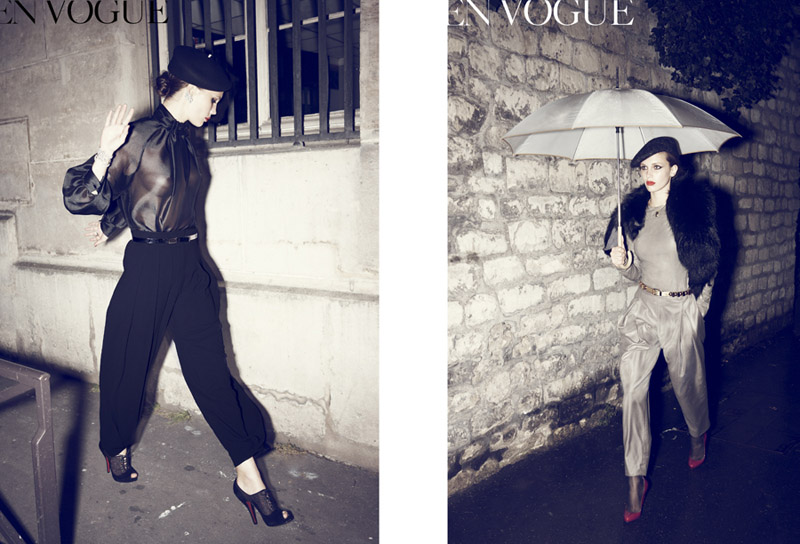 Marine Vacth by Sharif Hamza for Vogue Paris September 2010