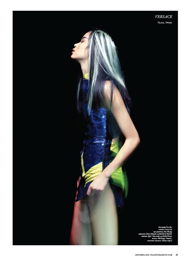 Kiki Kang for Playing Fashion September 2010 by Fan Xin