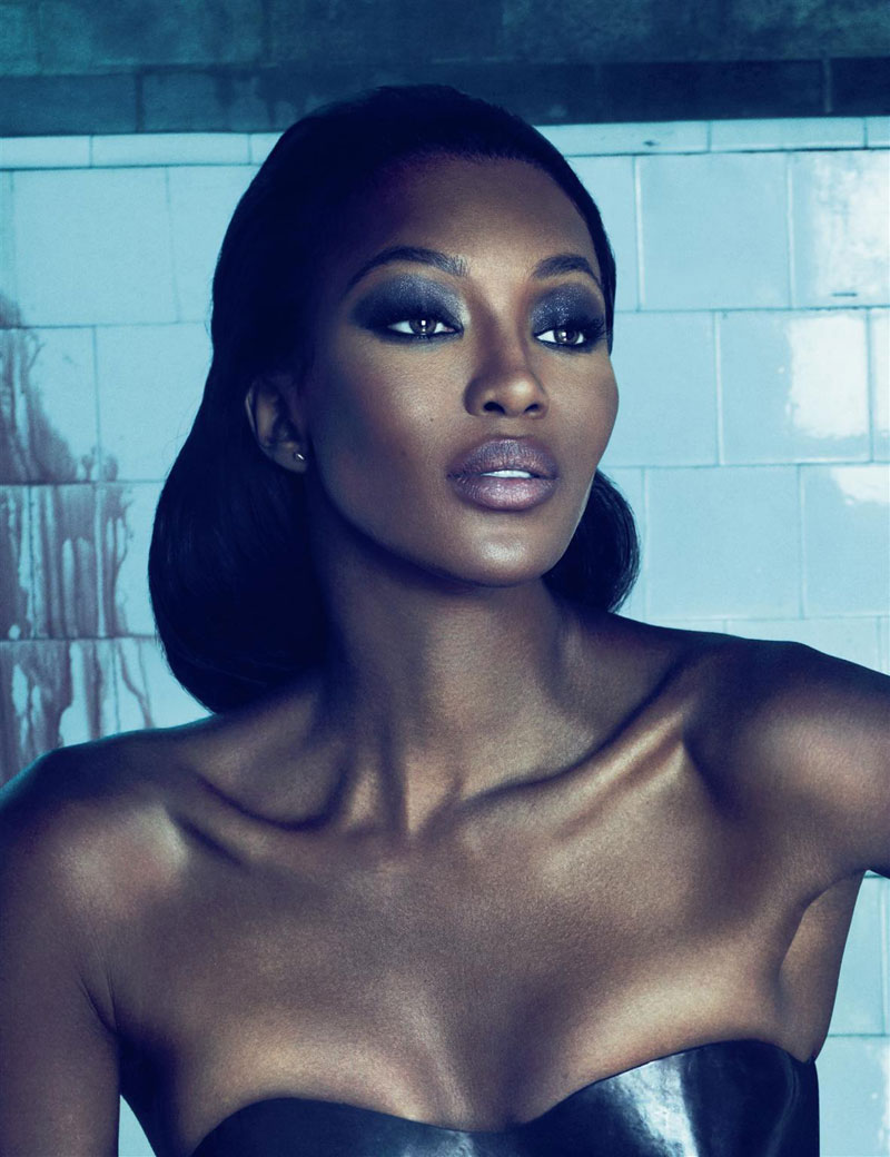 Naomi Campbell for Interview October 2010 by Mert & Marcus
