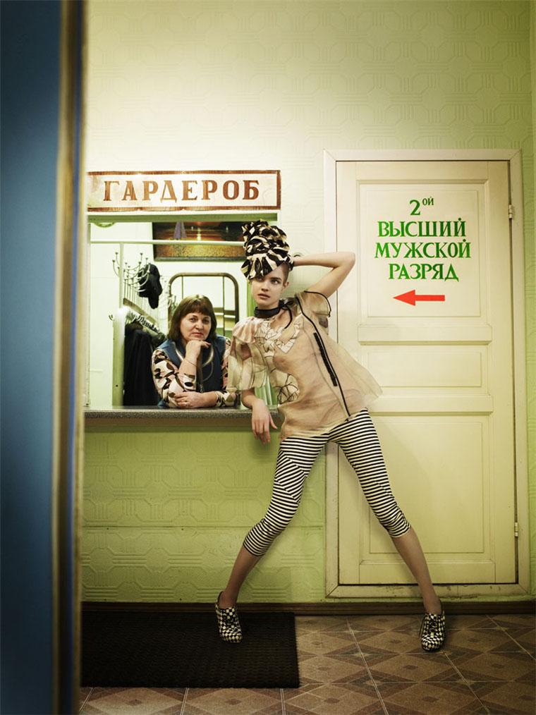 Morning Beauty | Natalia Vodianova by Mario Testino