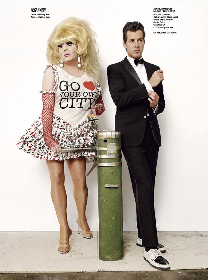 Lady Gaga, Liya Kebede & Chloe Sevigny in New York! by Mario Testino | V Magazine #67