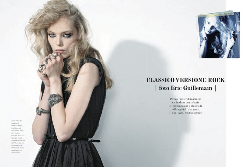 Tanya Dziahileva by Eric Guillemain for Flair September 2010