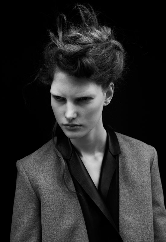 Ylonka Verheul by Carlotta Manaigo for i-D Fall 2010