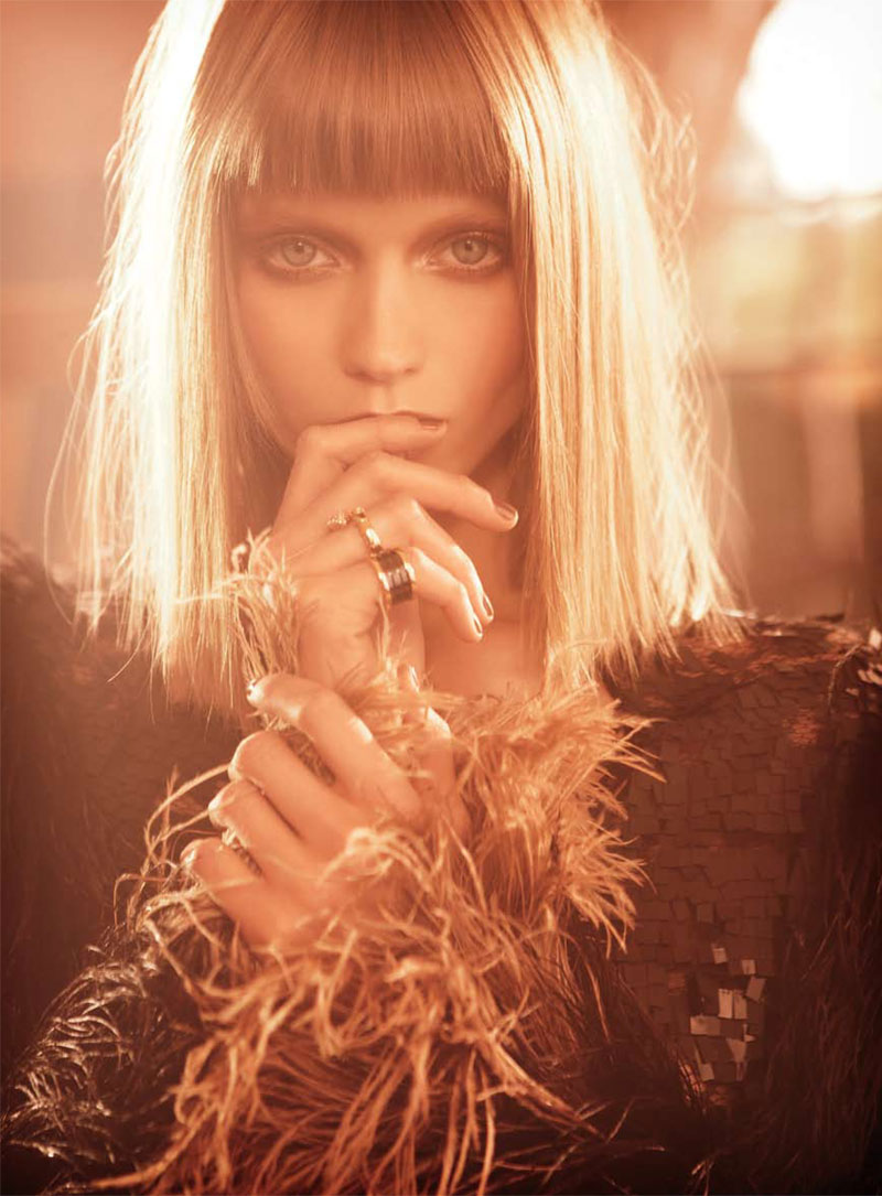 Abbey Lee Kershaw for Vogue Australia November 2010 by Nicole Bentley