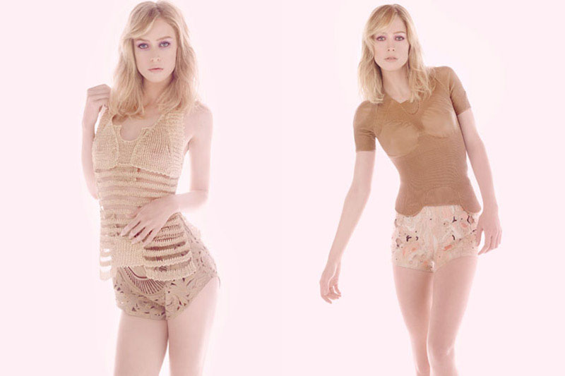 Raquel Zimmermann for Animale Spring 2011 Campaign by Henrique Gendre