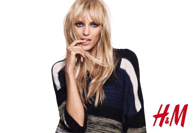 Daria Werbowy & Anja Rubik for H&M Get Warm 2010 Campaign
