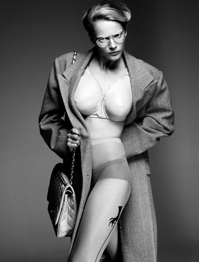 Ieva Laguna by Greg Kadel for Vogue Germany November 2010