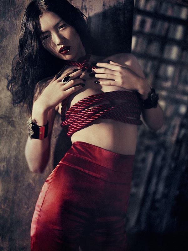 Liu Wen by Sebastian Kim for Muse Fall 2010
