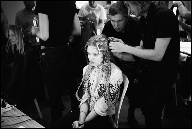 Alexander McQueen Spring 2011 | Behind the Scenes by Agata Pospieszynska