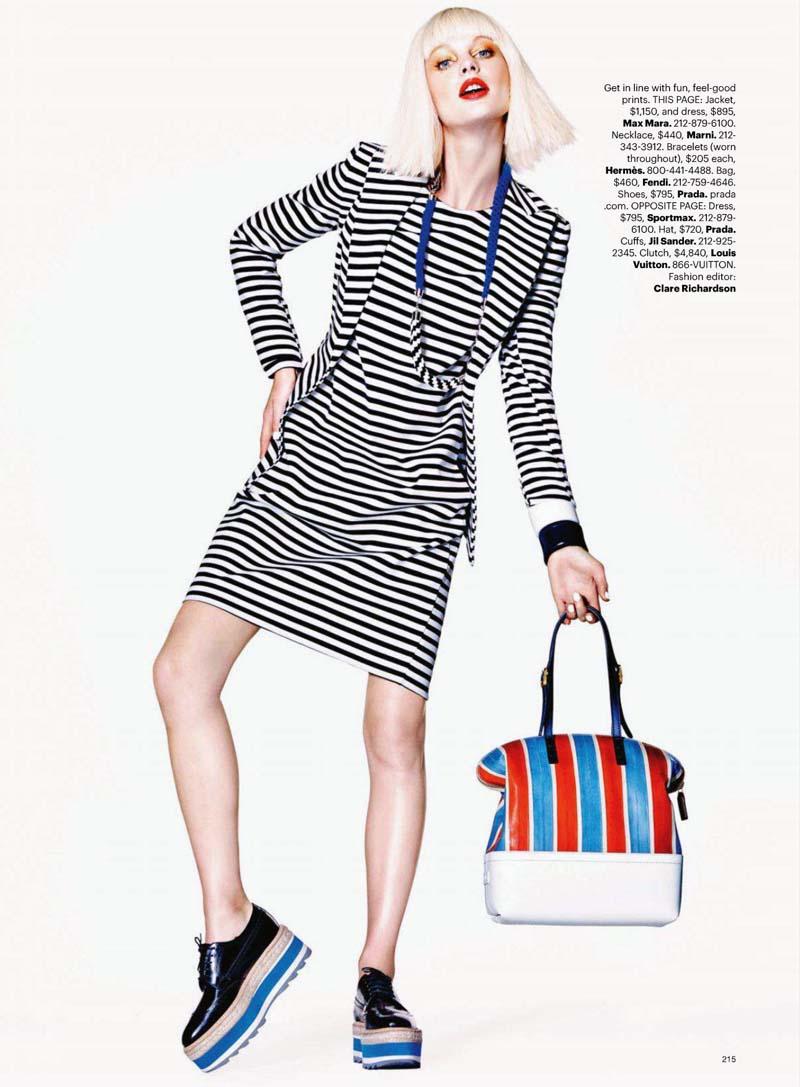 Patricia van der Vliet by Richard Burbridge for Harper's Bazaar US April 2011