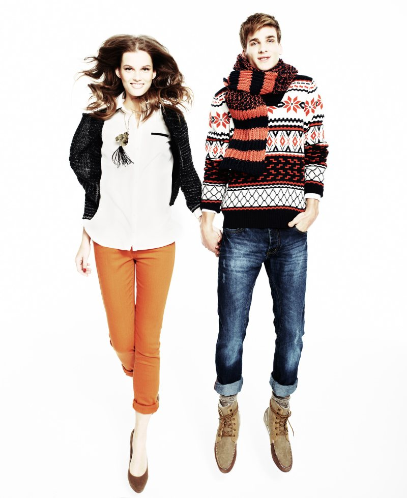 "Rianne Ten Haken & Giedre Dukauskaite for Blanco ""Autumn Smile"" Campaign"