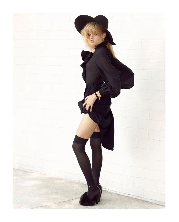 Hanne Gaby Odiele by KT Auleta for Numéro Tokyo November 2011