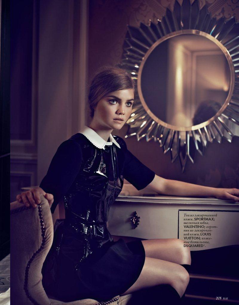Ida Nielsen by Andoni & Arantxa for Elle Ukraine