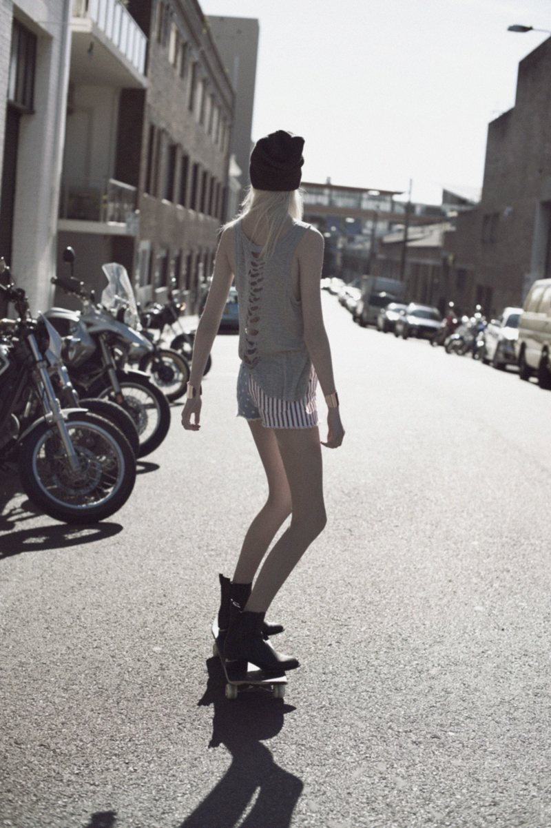 Krystal Glynn by Zanita Morgan for The Stylist's Own S/S 11.12 Collection