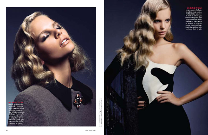 Marloes Horst by Alexander Neumann for Vogue Mexico October 2011