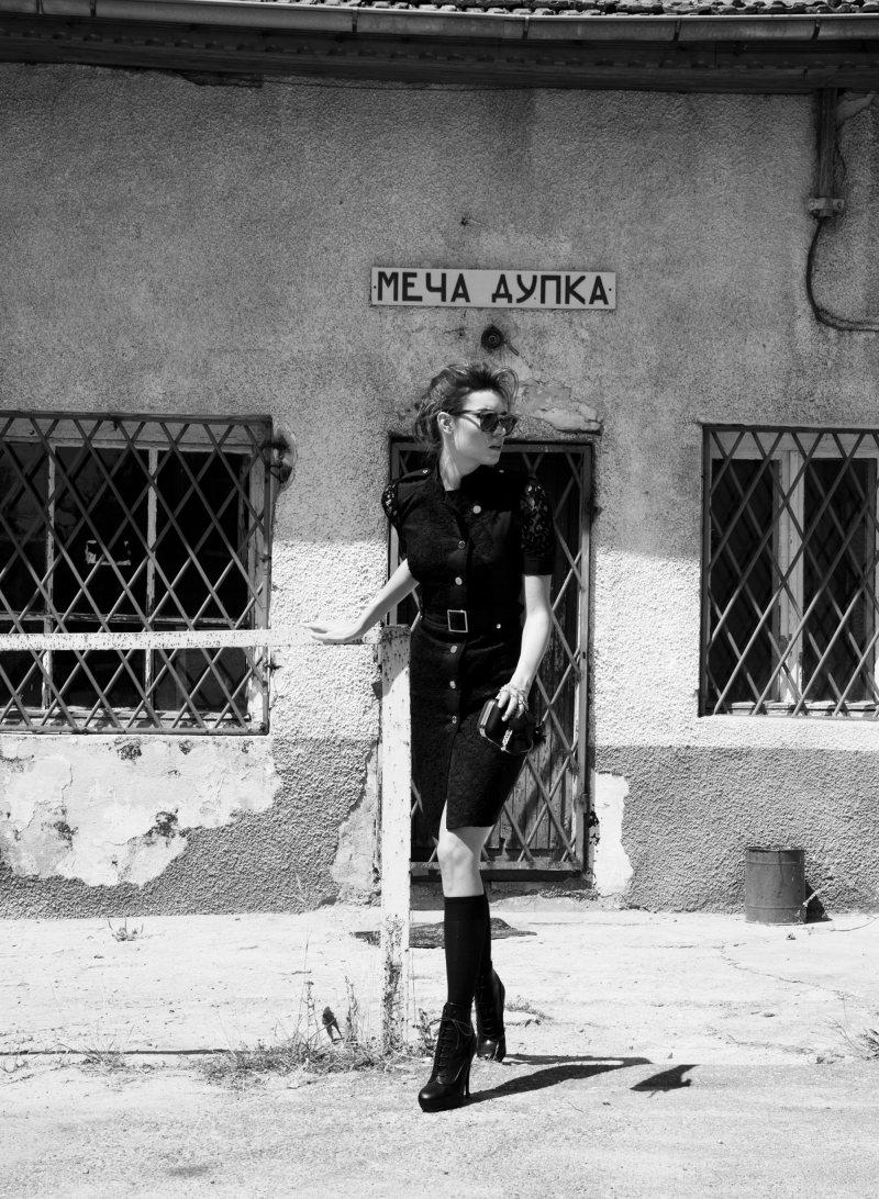 Simona Stoyanova by Hans Neumann for Amica