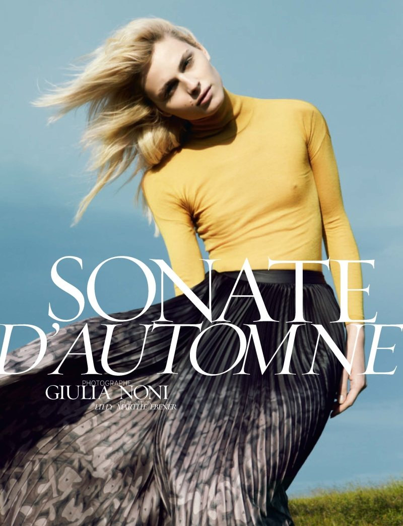 Andrej Pejic by Giulia Noni for French Revue de Modes #19