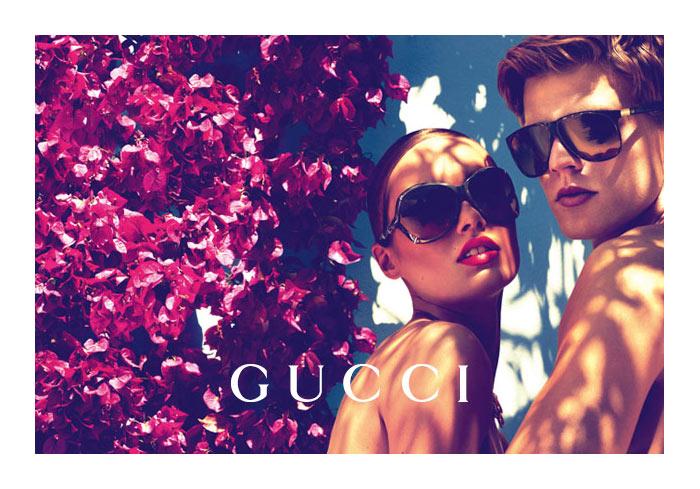 Karmen Pedaru for Gucci Cruise 2012 Campaign by Mert & Marcus