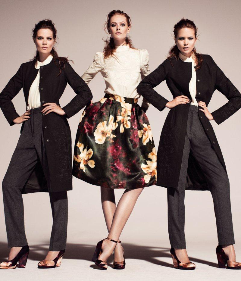 Frida Gustavsson & Caroline Brasch Nielsen for H&M Conscious Fall 2011 Campaign
