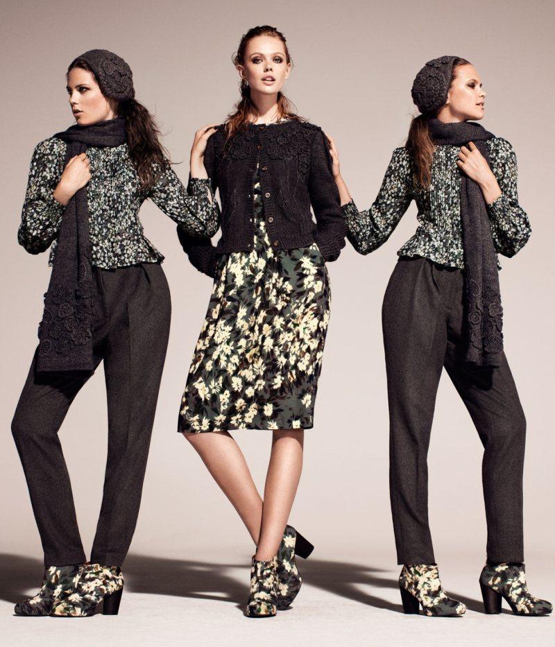 Frida Gustavsson & Caroline Brasch Nielsen for H&M ...