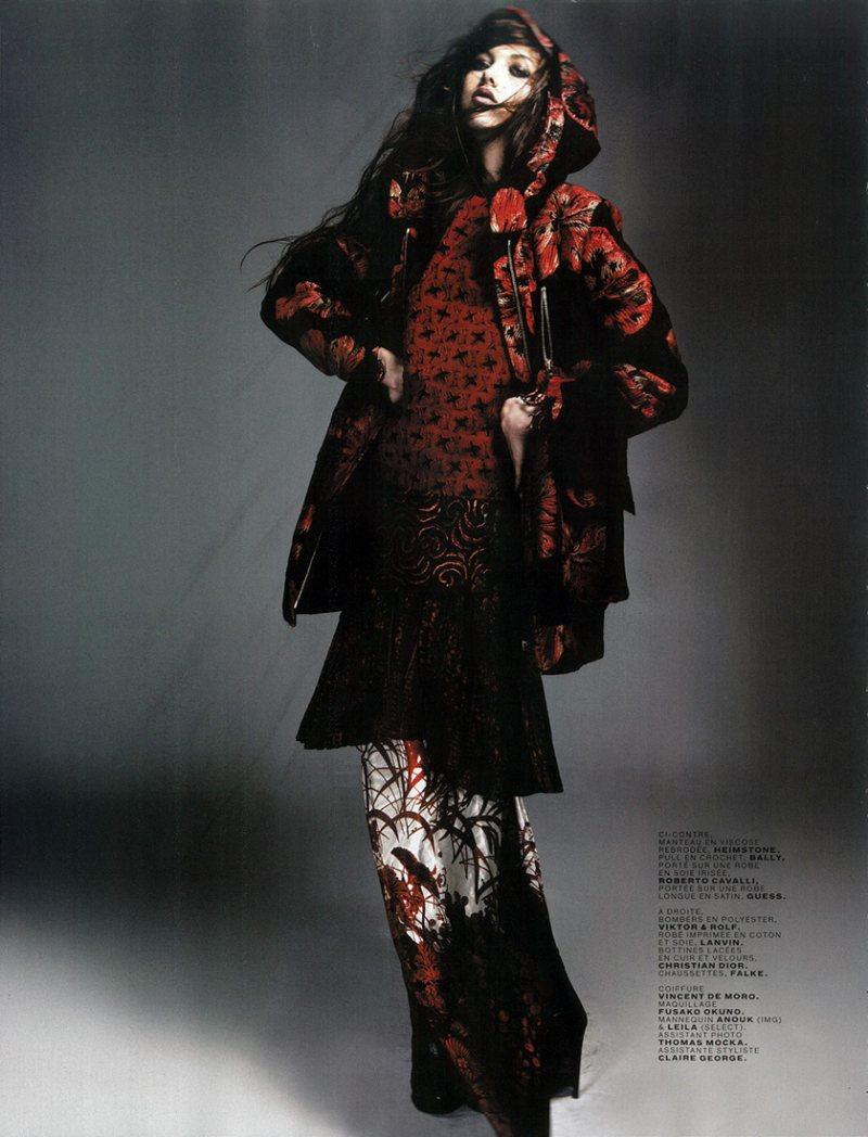 Leila Jay & Anouk De Heer by Damon Baker for Jalouse November 2011