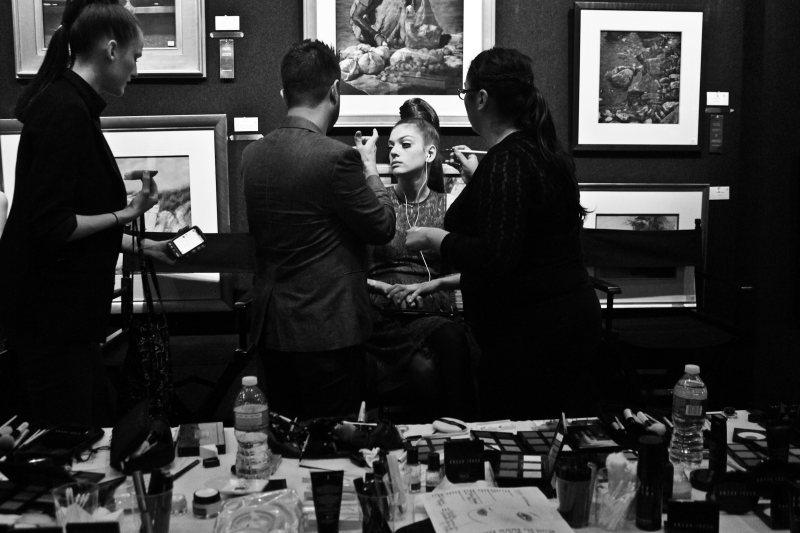 Marta Ortiz by Nicole Anne Robbins - Behind the Scenes