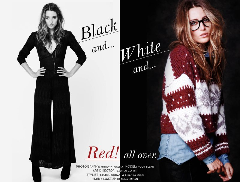 "Noot Seear for Free People ""Black & White"" Collection"