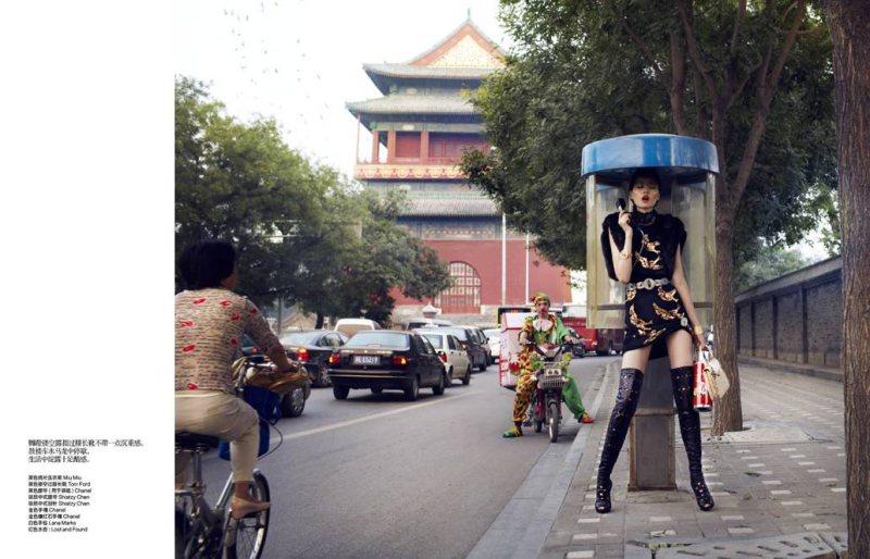 Zhulin by John-Paul Pietrus for Harper's Bazaar China