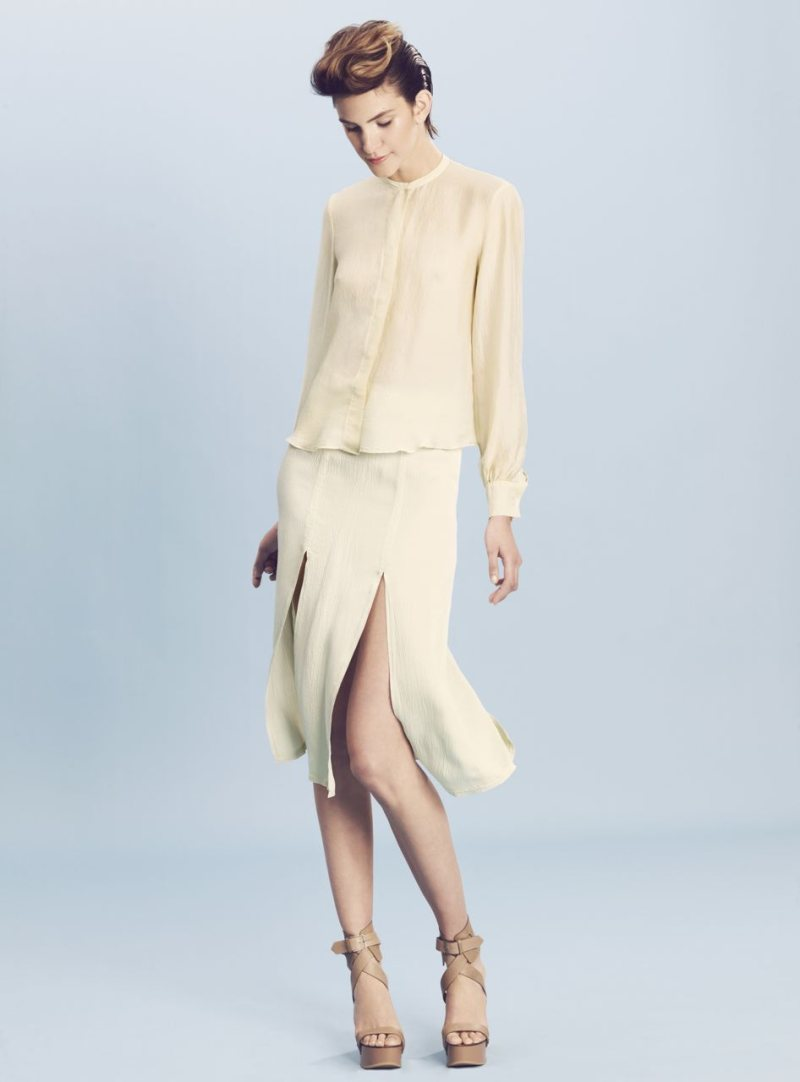 Flo Gennaro for Bassike Resort 2011.2012 Campaign by Beau Grealy